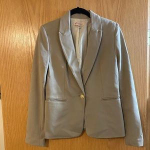 Tan Blazer with Silky Liner